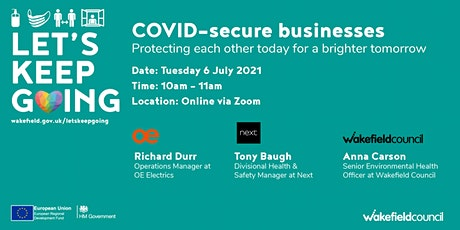 COVID-secure businesses tickets