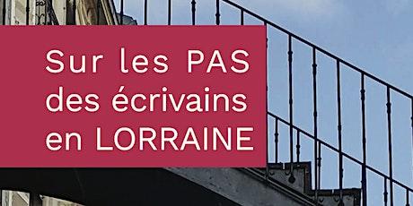 Promenade littéraire dans Nancy billets