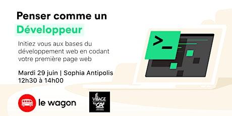 Workshop l Penser comme un développeur web billets