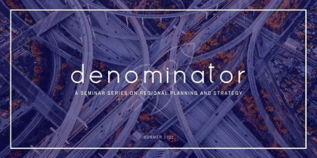 denominator: a seminar series on regional ministry planning and strategy Tickets