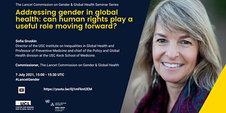 Gender in global health: Can human rights play a useful role? tickets