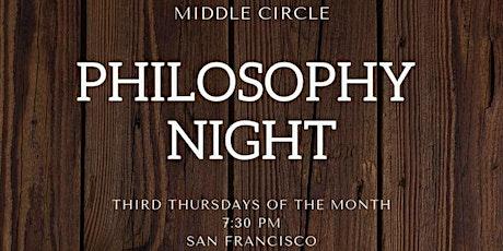 Philosophy Night: Epiphanies [Partner][Virtual] tickets