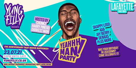 Yung Filly Presents - YeahhhMan Parties 2 Year Anniversary tickets