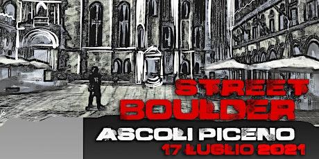 Street Boulder Ascoli Piceno biglietti