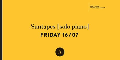 Suntapes : Solo piano tickets