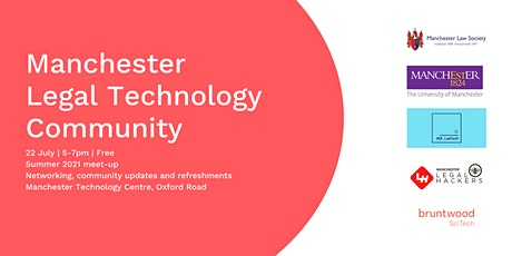Manchester Legal Technology Community: Summer Social tickets