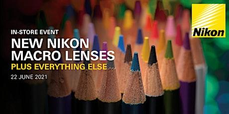 Nikon instore event - Stirling Street tickets