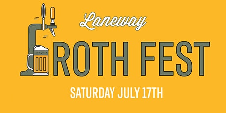 Froth Fest | Laneway Cairns tickets