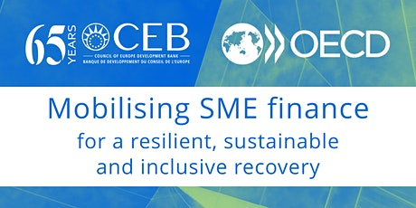 Mobilising SME finance for a resilient, sustainable and inclusive recovery tickets