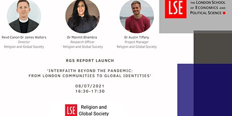 Interfaith Beyond the Pandemic-From London Communities to Global Identities tickets