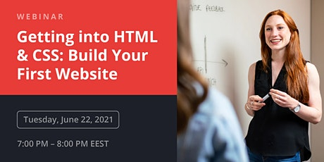 HTML & CSS: Build Your First Website tickets