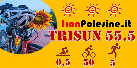 IronPolesine TRISUN 55.5 TRIATHLON per beneficenza biglietti