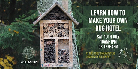 Learn to Make Your Own Bug Hotel tickets