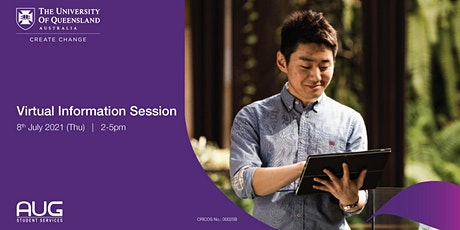 University of Queensland Virtual Information Session tickets