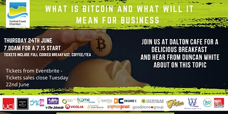 CCCCI Present Breakfast: Is Crypto/Bitcoin the Future for Business? tickets