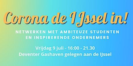 Netwerkevent Corona de IJssel in! tickets