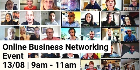 Online Business Networking Event with Introbiz Tickets