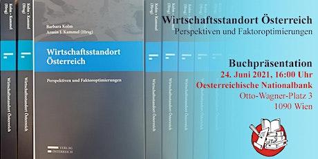 Buchpräsentation Wirtschaftsstandort Österreich Tickets