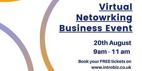 Virtual Networking Business Event with Introbiz tickets