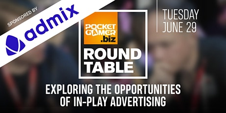 PG.biz RoundTable: Exploring The Opportunities Of In-Play Advertising tickets