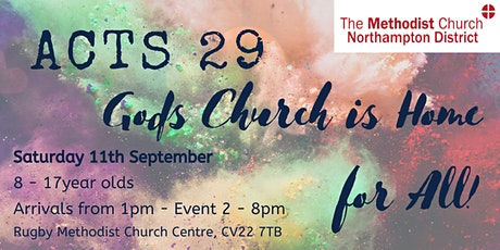 Acts 29: God's Church is Home for All! tickets