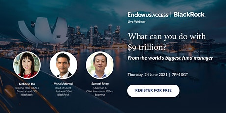 What can you do with $9 trillion? Find out from the biggest fund manager tickets
