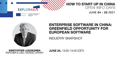 Enterprise Software in China: Greenfield Opportunity for European Software tickets