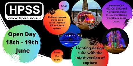 HPSS Ltd Open Day tickets