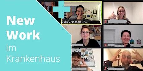 """#4 Meet-up der """"New Work im Krankenhaus""""-Community: Ressourcen Tickets"""
