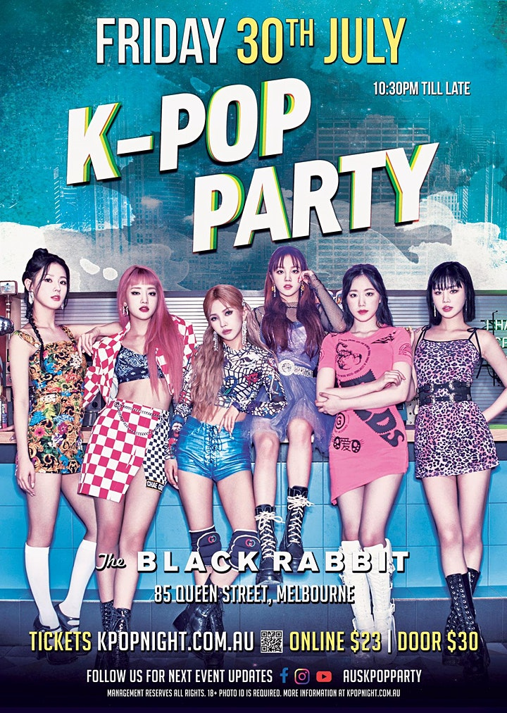 Melbourne K-Pop Party 30th July [Full Capacity Event] image