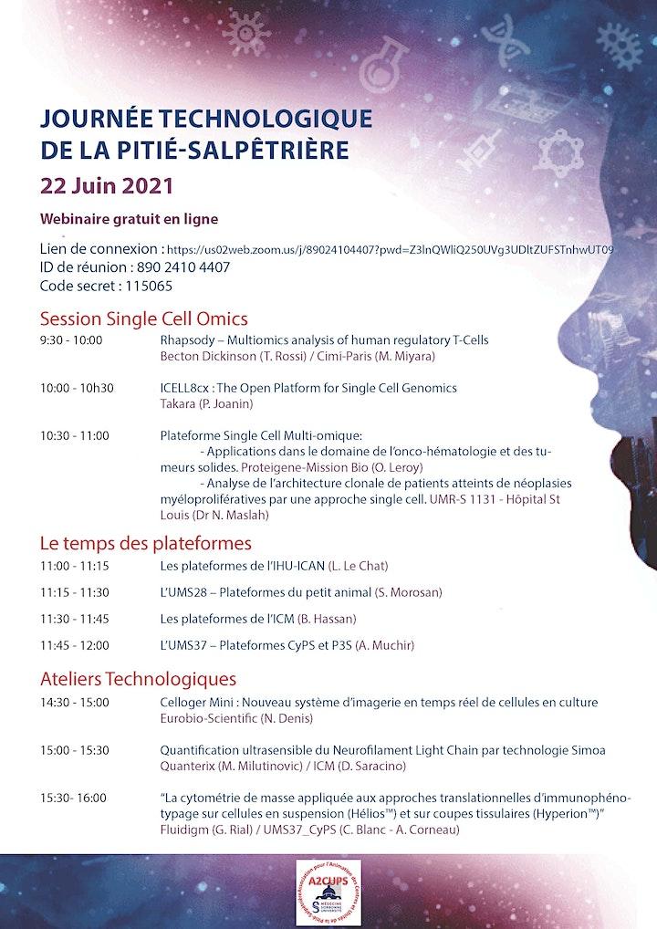 Image pour Journée Technologique de la Pitié-Salpêtrière 22 Juin 2021