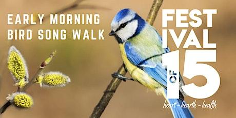 Early Morning Bird Song Walk tickets