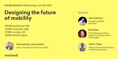 """""""Designing the future of mobility"""" tickets"""