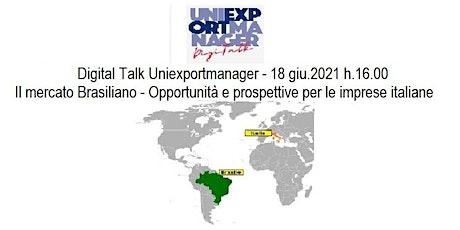 Il mercato Brasiliano - Opportunità e prospettive per le imprese italiane biglietti