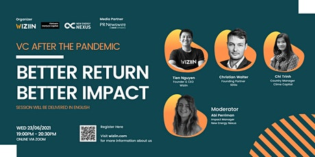 VC AFTER THE PANDEMIC   BETTER RETURN BETTER IMPACT tickets