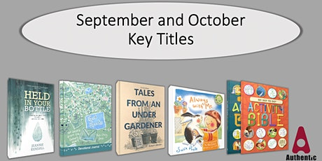 Join the Authentic Team as they present their latest titles to bookshops. tickets