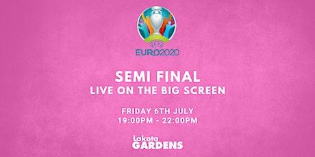 EUROS 2021: SEMI FINAL #1 tickets