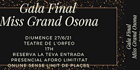 Miss Grand Osona entradas