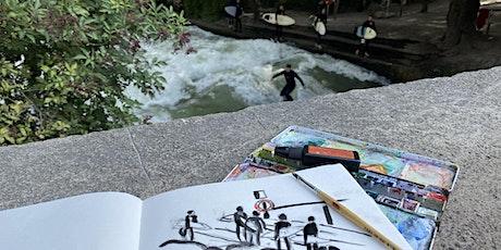 Mo, 13.9. | 10-16 Uhr | Urban Sketching: Kunstrallye | 6- bis 10-Jährige Tickets