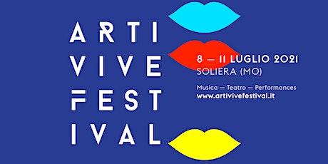 Arti Vive Festival - Gaia Nanni in Gli ultimi saranno ultimi biglietti