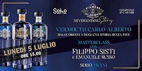 Vermouth Carlo Alberto, dalle origini a oggi: una storia senza fine biglietti