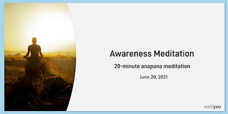 Awareness Meditation tickets