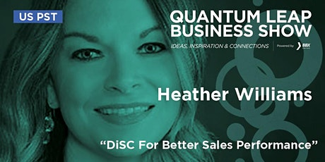 DiSC For Better Sales Performance - Heather Williams tickets