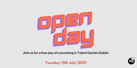 Talent Garden Dublin - Open Day tickets