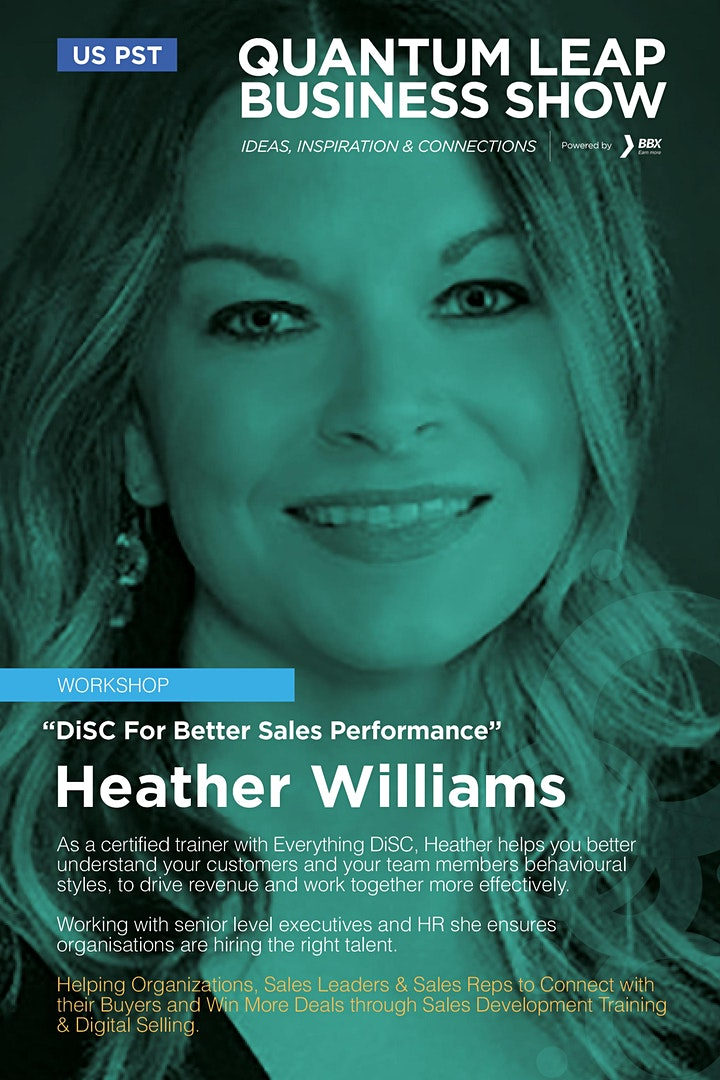 DiSC For Better Sales Performance - Heather Williams image