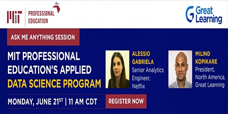 Ask me anything with Applied Data Science Program Alumnus: Gabriela Alessio tickets