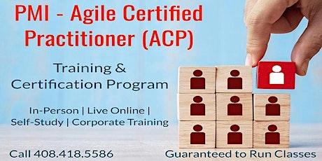 08/17  PMI-ACP Certification Training in San Jose tickets