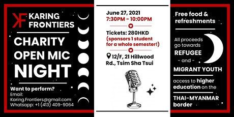 Open Mic Fundraiser: Karing Frontiers tickets