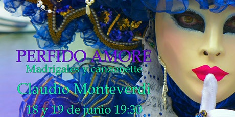 Experiencia, Perfido Amore: Madrigales de Monteverdi + Copa en Transbaroque tickets