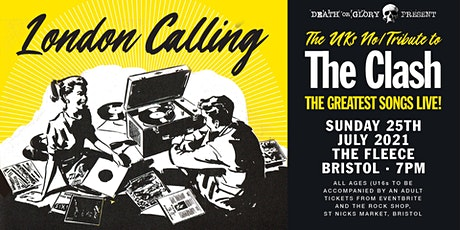 London Calling  (Clash Tribute) Sandinista 40th Anniversary Show tickets